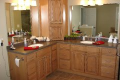Wood Master Bath in Eldersburg, MD