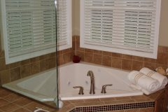 Wood Master Bath