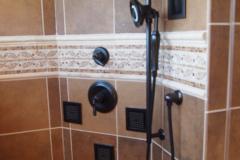 Brown Master Bath in Sykesville, MD