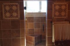Brown Master Bath
