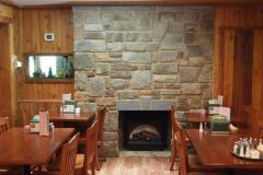 Salerno's Dining Room Fireplace