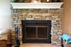 Fireplace After Renovation in Ellicott City, MD