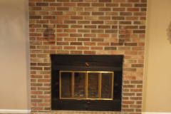 Fireplace Before Renovation in Ellicott City, MD